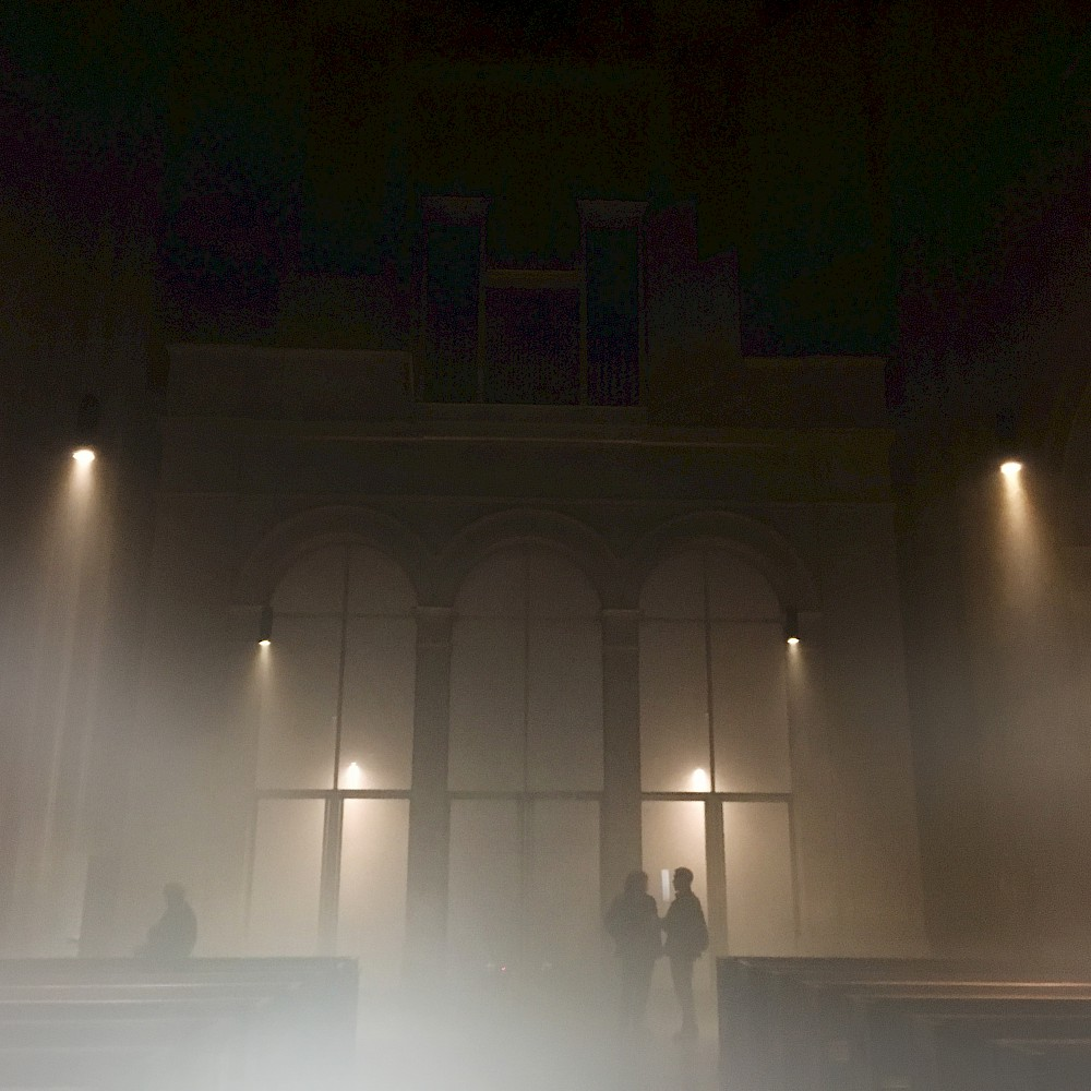 Nun da der Nebel fällt - Performance in St. Ludwig - There will be blood